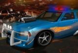 لعبة سيارات رجال الشرطة النارية