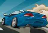 لعبة سيارات طريق الخريف