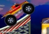 لعبة شاحنة القفز فوق السيارات الجديدة جدا
