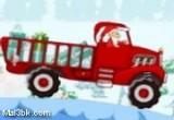 لعبة شاحنة بابا نويل اون لاين