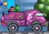 لعبة شاحنة باربي الجميلة
