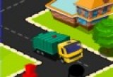 لعبة شاحنة تنظيف المدينة الخضراء