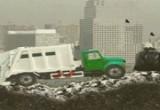 لعبة شاحنة جمع القمامه الجديدة
