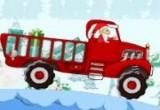 لعبة شاحنة عيد الكرسمس