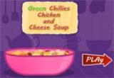 لعبة شوربة الدجاج بالجبن