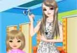 لعبة صالون قص شعر البنات
