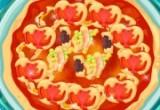 لعبة طبخ البيتزا السميكة