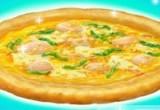 لعبة طبخ البيتزا الصحية