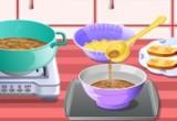 لعبة طبخ حساء البصل الفرنسي