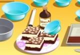 لعبة طبخ حلى طبقات الشكل