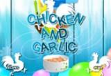 لعبة طبخ دجاج بالثوم المهروس