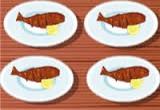 لعبة طبخ سمك مشوي على الفحم