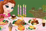 لعبة طبخ عشاء الكريسماس الرومنسي