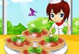 لعبة طبخ فطائر الفروالة الصغيرة