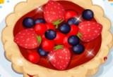 لعبة طبخ فطيرة الفروالة مع التوت الساخنة