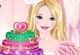 لعبة طبخ كعكة باربي الماسية