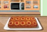 لعبة طبخ كيكة الاناناس مع الشيف سارة