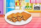 لعبة طبخ كيك بالعسل والمكسرات