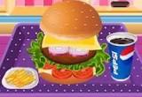 لعبة طبخ همبرجر الشهى 2016