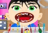 لعبة علاج اسنان الطفل الشرير
