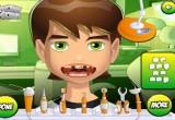 لعبة علاج اسنان الطفل كارل عند طبيب الاسنان