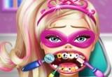 لعبة علاج اسنان باربي