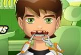 لعبة علاج اسنان بن تن 10 الجديدة