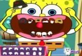 لعبة علاج اسنان سبونج بوب