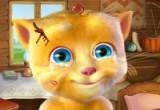 لعبة علاج القط المتحدث 2016