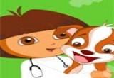 العاب علاج كلب دورا الحديثة جدت