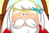 لعبة قص شعر بابا نويل الحديثة