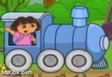 لعبة قطار دورا اون لاين