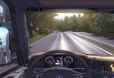 لعبة قيادة الشاحنة الكبيرة من الداخل