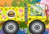 لعبة قيادة شاحنة سبونج بوب وتوزيع البرجر اللذيذ