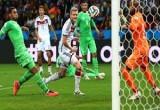 لعبة كأس العالم المانيا والجزائر الخضر