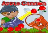 لعبة مدفع التفاحه اون لاين