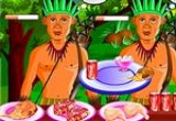 لعبة مطعم الهنود الحمر