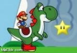 لعبة مغامرات ماريو و الديناصور يوشي الاصلية