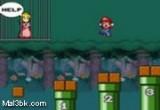 لعبة مغامرة ماريو لانقاذ الاميرة الاصلية
