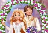 لعبة يوم الزفاف لرابونزيل