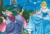 لعبة تركيب صورة سندريلا و الساحرة
