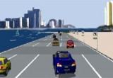 لعبة سباق سيارات في دبي
