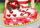 العاب طبخ كيكه عيد الحب