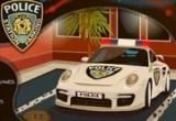 لعبة مواقف سيارات الشرطة