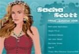 العاب تلبيس لملكة الجمال ساشا سكوت
