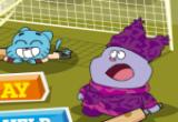 لعبة تنس ارضي مع غامبول