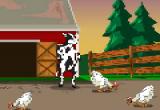العاب مغامرات البقرة الضاحكة الجديده